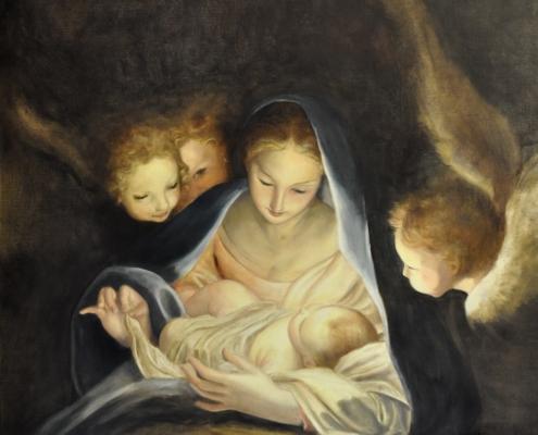 Copie - Vierge à l'enfant de Carlo Marratta