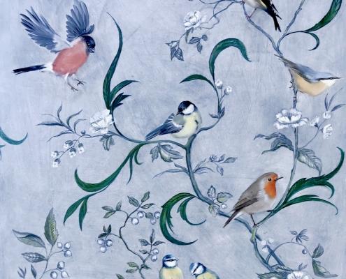 Des oiseaux et des arabesques