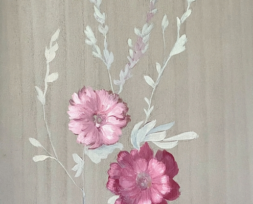 Paravent fleurit