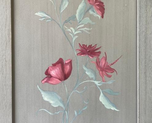 Fleurs de paravent